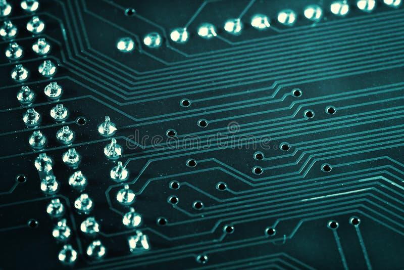 elektronisk brädeströmkrets royaltyfria bilder