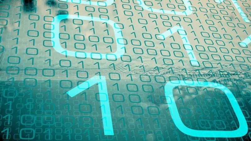 Elektronisk chip för säkerhetsai-programvara och för ny maskinvara arkivbilder
