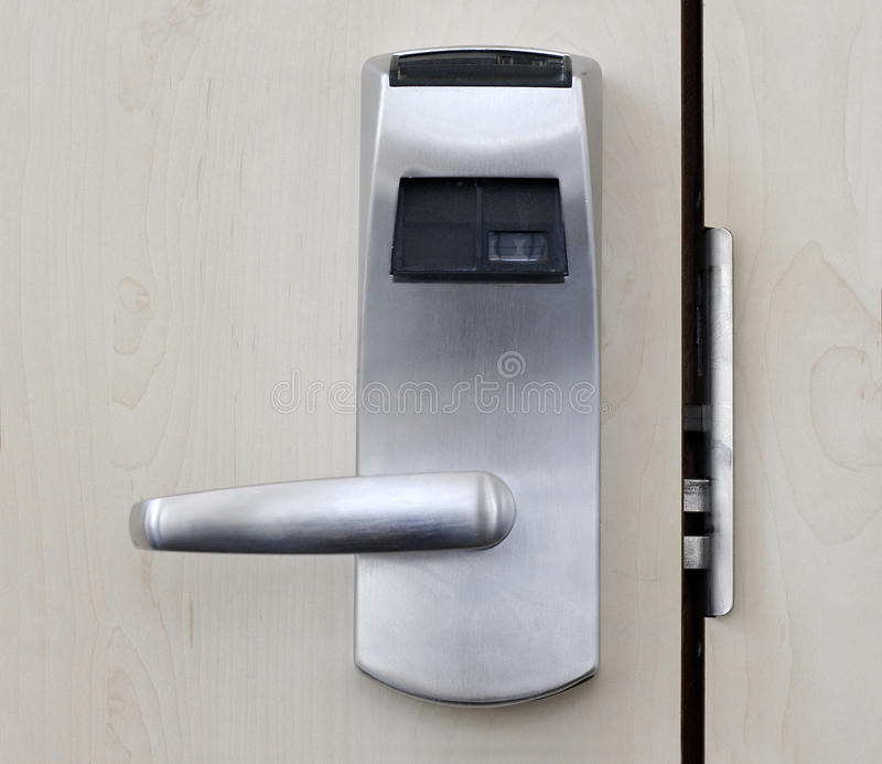 elektronisk dörr arkivbilder