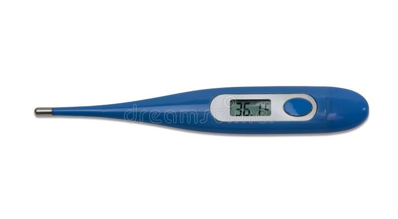 elektronisk medicinsk termometer royaltyfri fotografi
