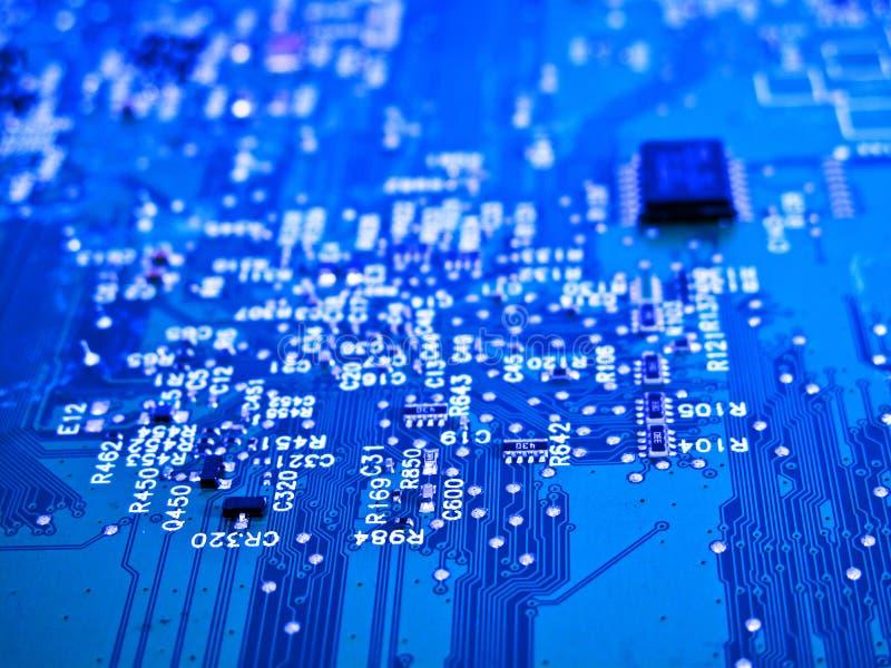 elektronisk strömkrets arkivbilder