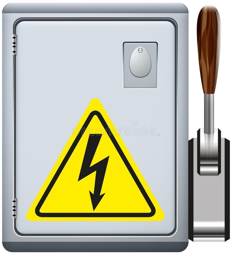 Elektropaneel stock illustratie