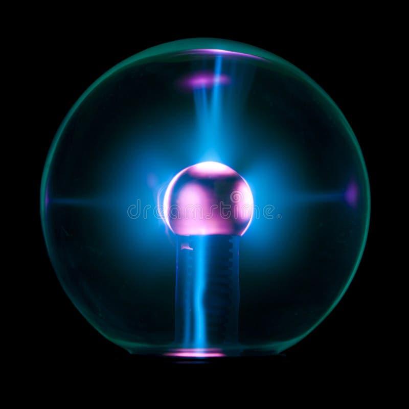 Elektrostatische bal royalty-vrije stock foto