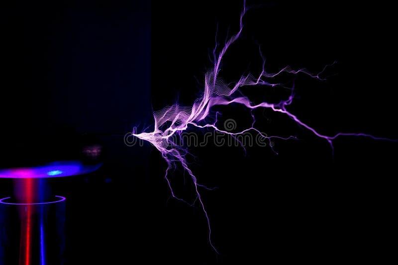 Elektrostatische Lossing royalty-vrije stock foto's