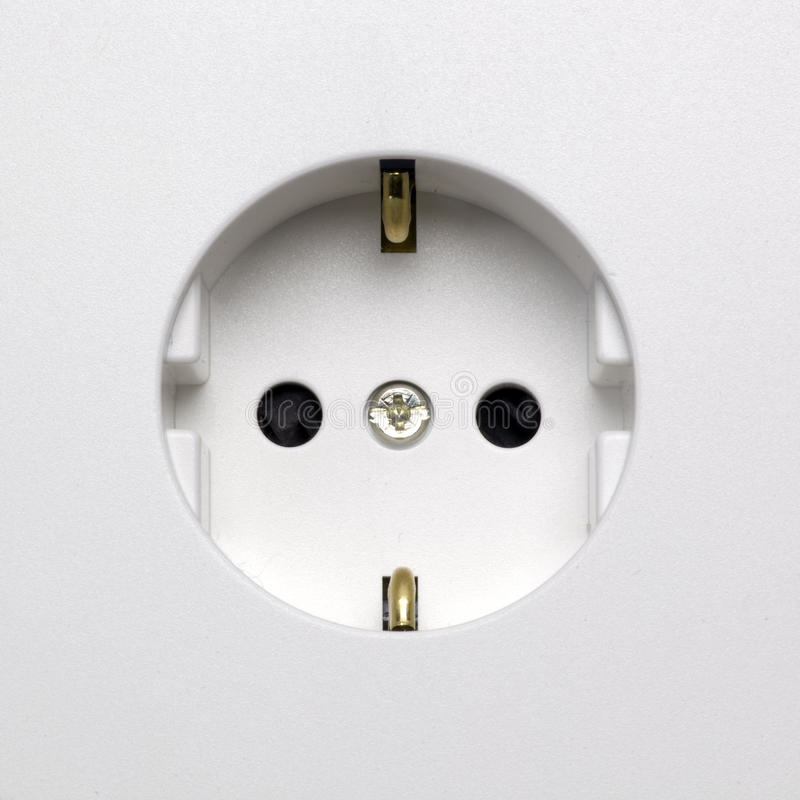 Download Elektrostopcontactdoos stock afbeelding. Afbeelding bestaande uit toestel - 39101533