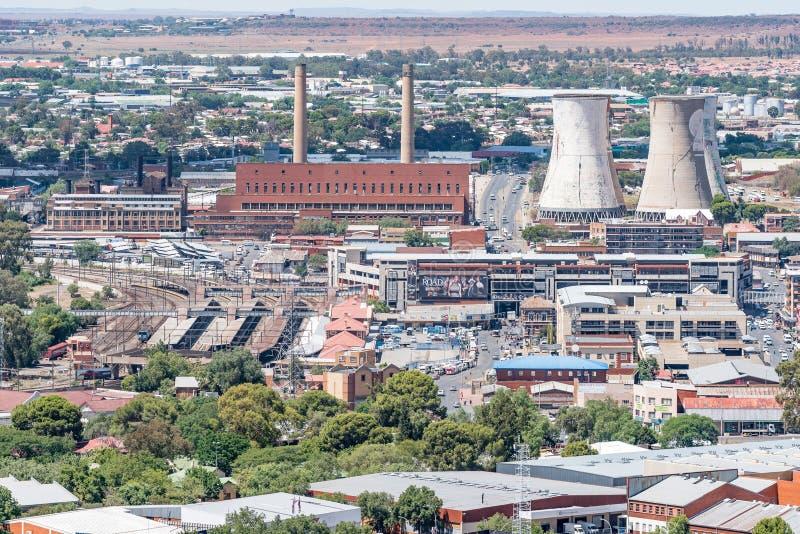 Elektrowni, dworca i taxi kategoria w Bloemfontein, obraz royalty free