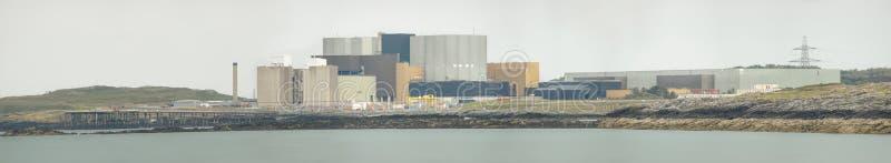 Elektrowni Jądrowej panorama zdjęcia stock