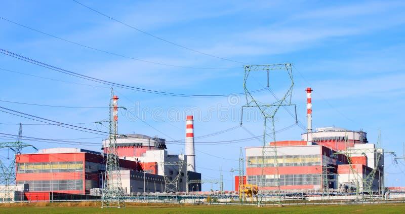 elektrowni nuklearnej władza zdjęcia stock