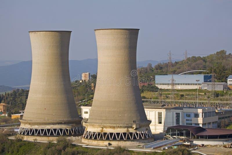 Download Elektrownia zdjęcie stock. Obraz złożonej z krajobraz - 13332826