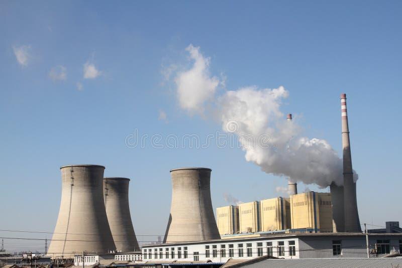 elektrownia zdjęcia stock