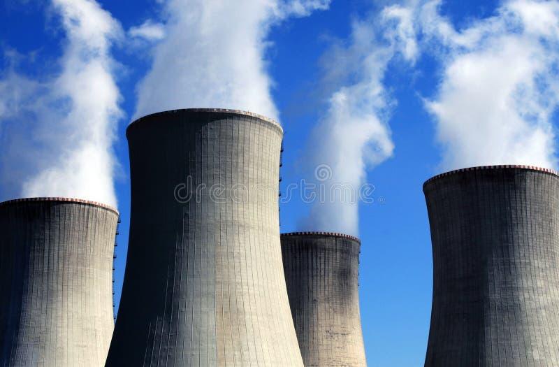 elektrownia atomowa zdjęcie royalty free