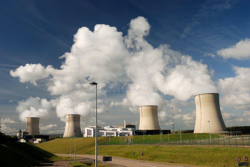 elektrownia atomowa zdjęcia royalty free