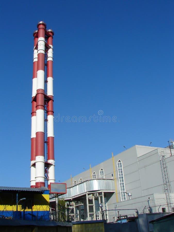elektrownia termiczna zdjęcie royalty free