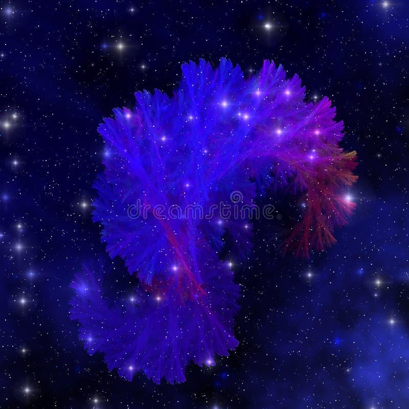 elektrum błękitny mgławica ilustracji