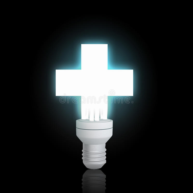 Elektryczna żarówka zdjęcie stock