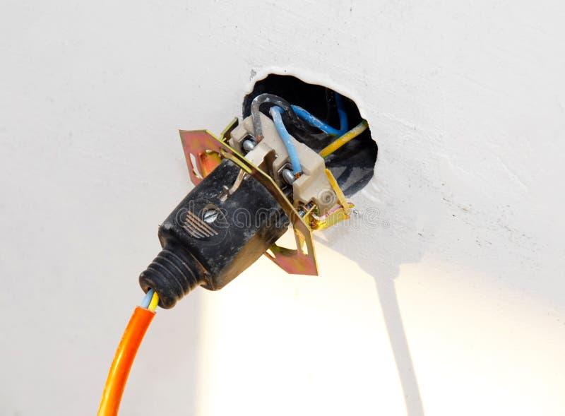 elektryczna dźwigarka fotografia stock