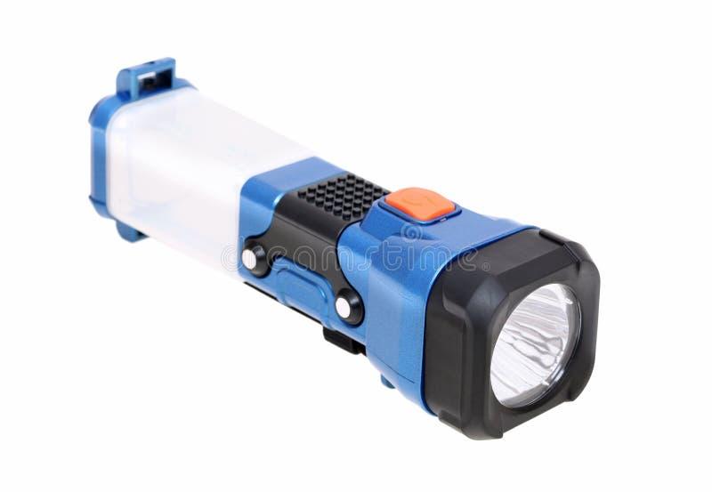 Elektryczna kieszeniowa latarka zdjęcia stock