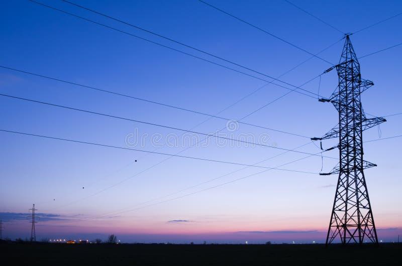 elektryczna kreskowa władza zdjęcie royalty free