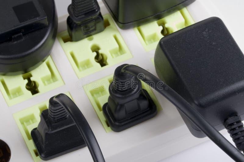 Elektryczna nasadka zdjęcia stock