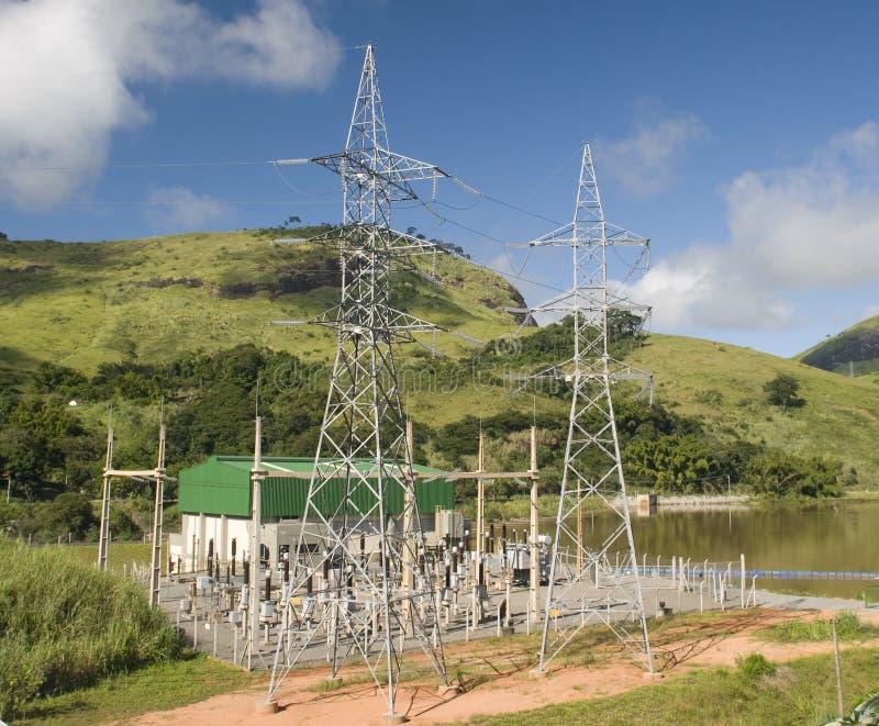 elektryczna podstacja obraz royalty free
