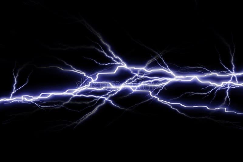 Elektryczne iskry ilustracja wektor