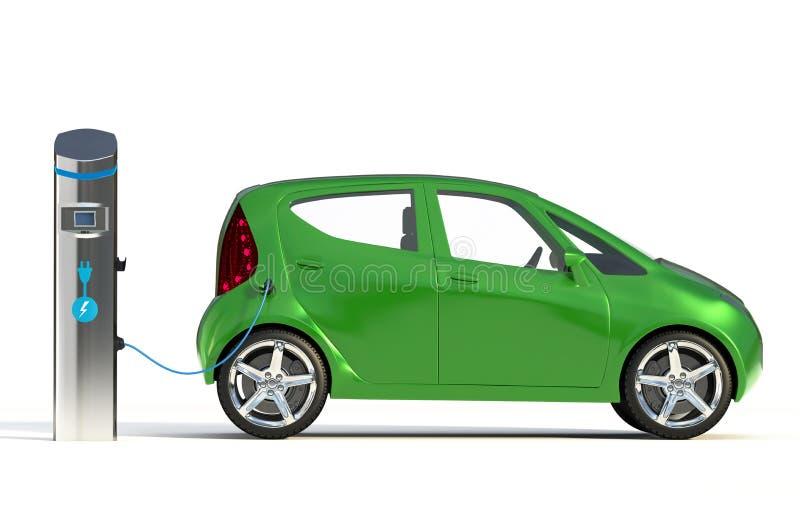 Elektrycznego pojazdu Ładuje stacja II obraz royalty free