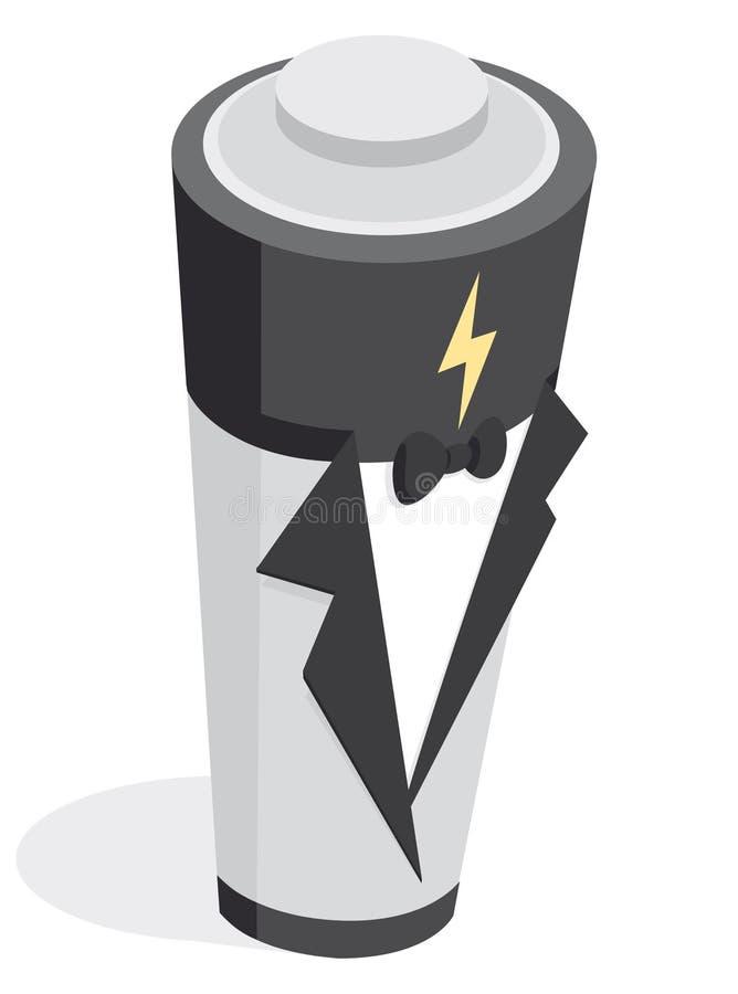Elektrycznej energii alternatywa, Droga bateria/ ilustracji