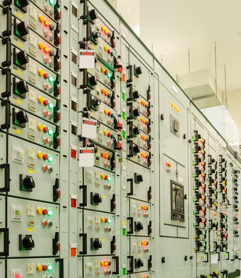 elektrycznej energii podstacja obraz stock