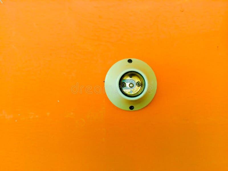 Elektrycznej nasadki lampa fotografia stock