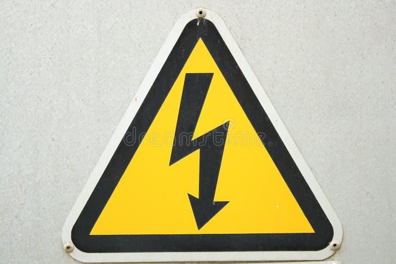 Elektrycznej władzy znak zdjęcie royalty free