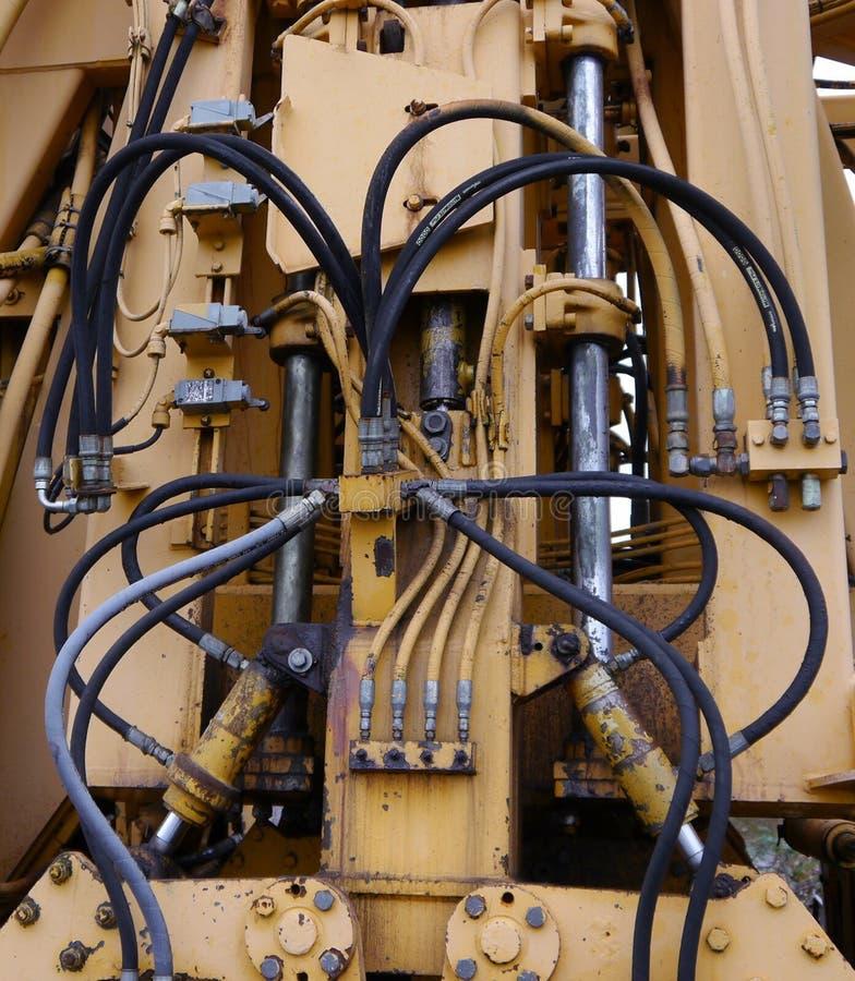 Elektryczni druty i władzy technologii kabel obraz royalty free