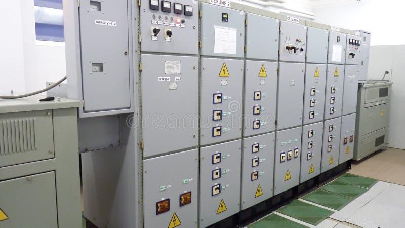 elektryczni panel zdjęcia royalty free