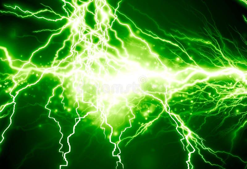 Elektryczność royalty ilustracja