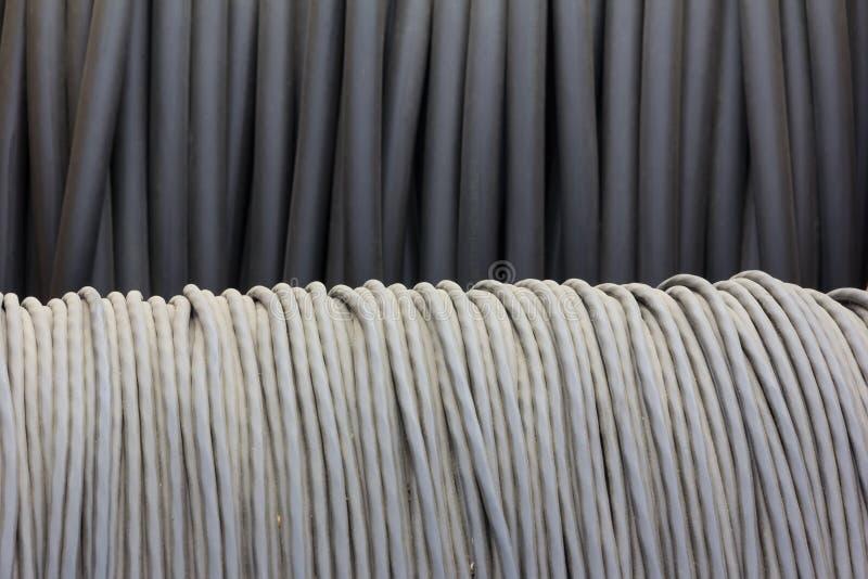 Elektryczność kabel obraz stock