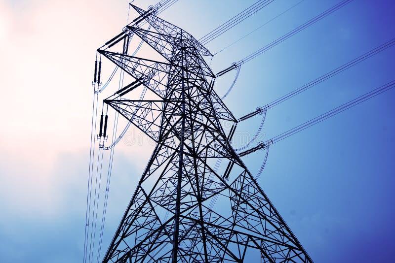 elektryczność pilony obrazy stock