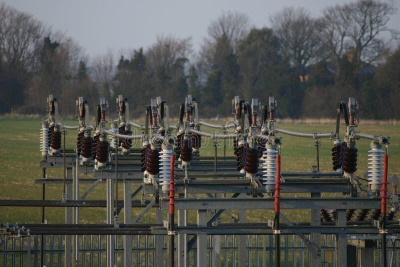 Elektryczności stacja obraz stock