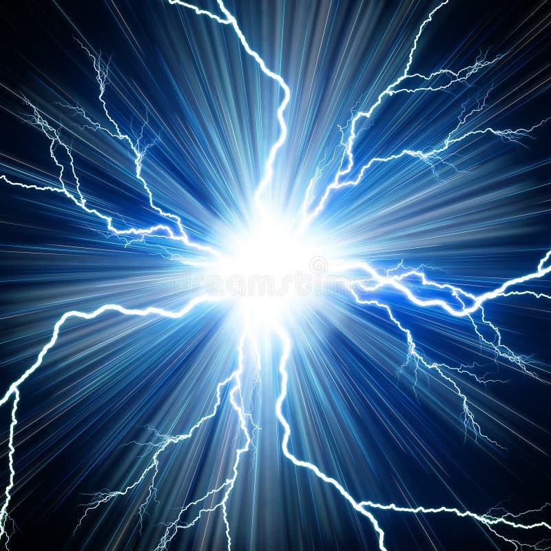 Elektryczny błysk ilustracji