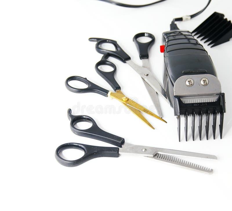 elektryczny cążki włosy fotografia stock