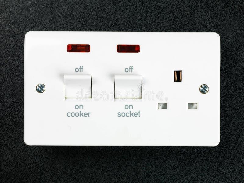 Elektryczny Ciężki - depeszująca kuchenki nasadka obraz royalty free