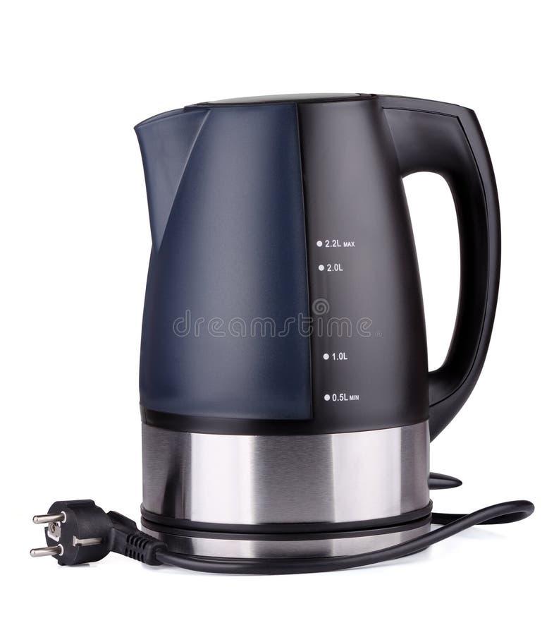 elektryczny czajnik fotografia stock