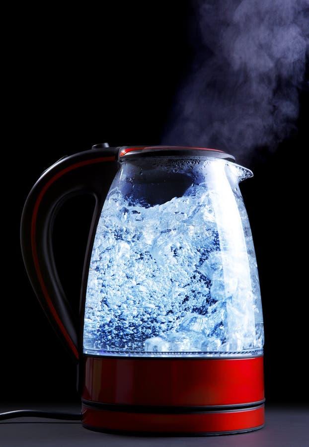 Elektryczny czajnik zdjęcie royalty free