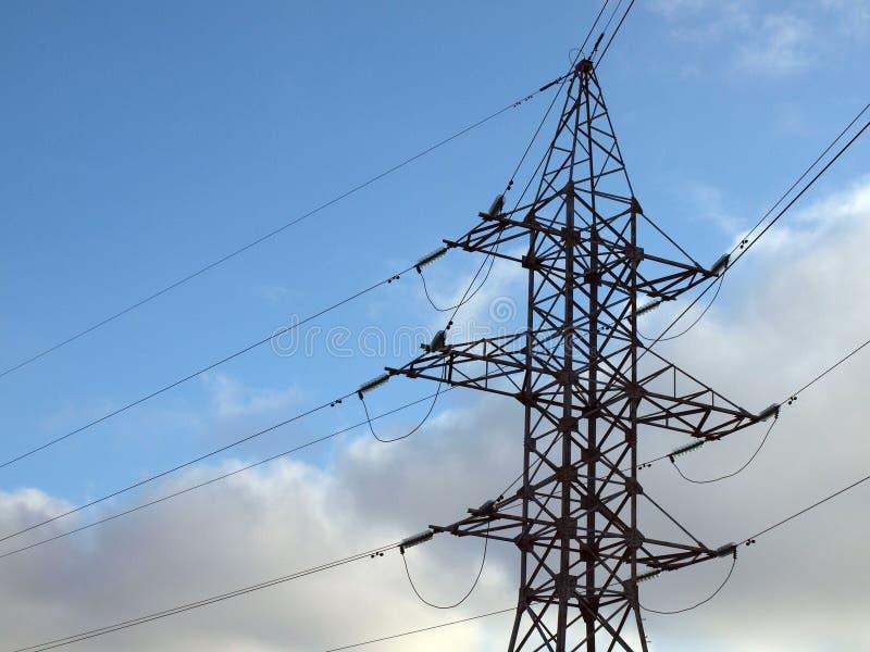Download Elektryczny Energetyczny Przeniesienie Obraz Stock - Obraz: 12400215
