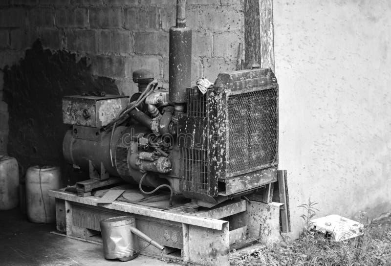Elektryczny generatorowy dynamo obraz stock
