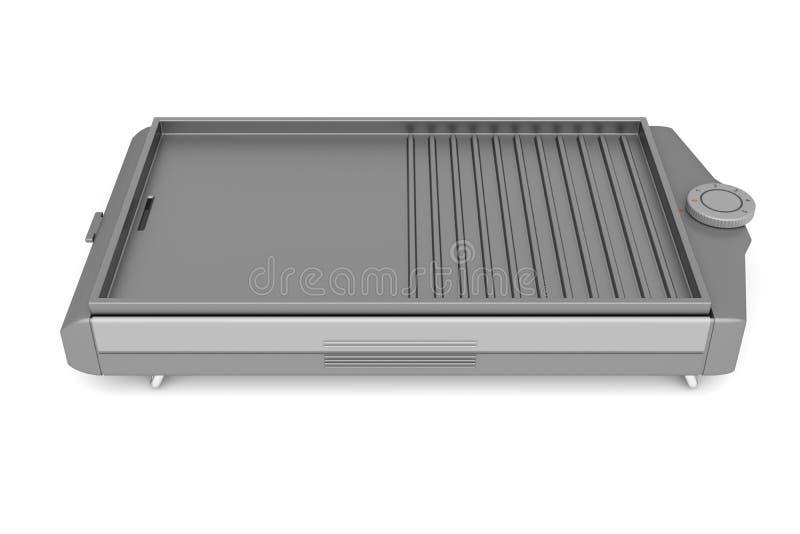 Elektryczny grill ilustracja wektor