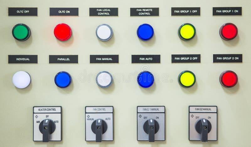 Elektryczny kontrolera gabinet obrazy royalty free