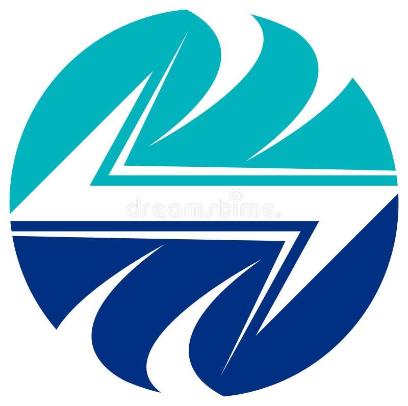 elektryczny logo ilustracji