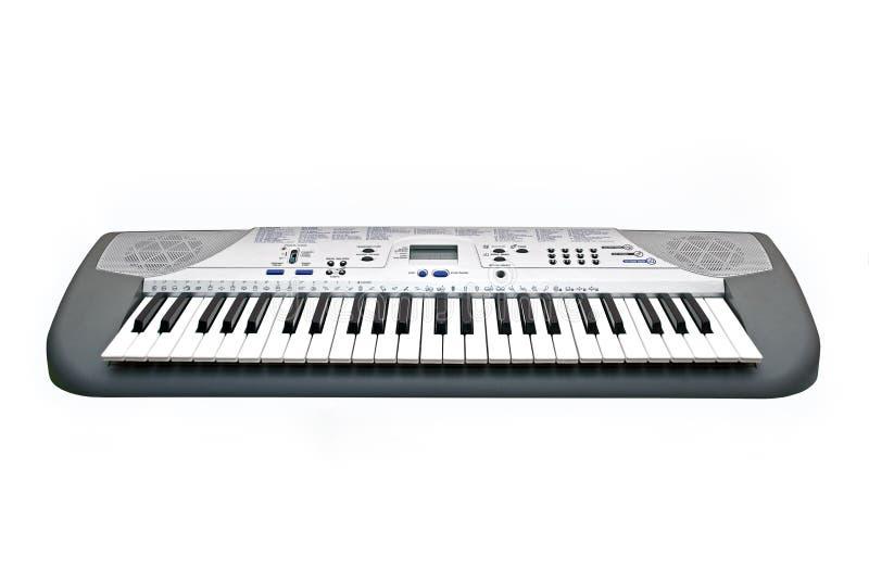 elektryczny pianino zdjęcie stock