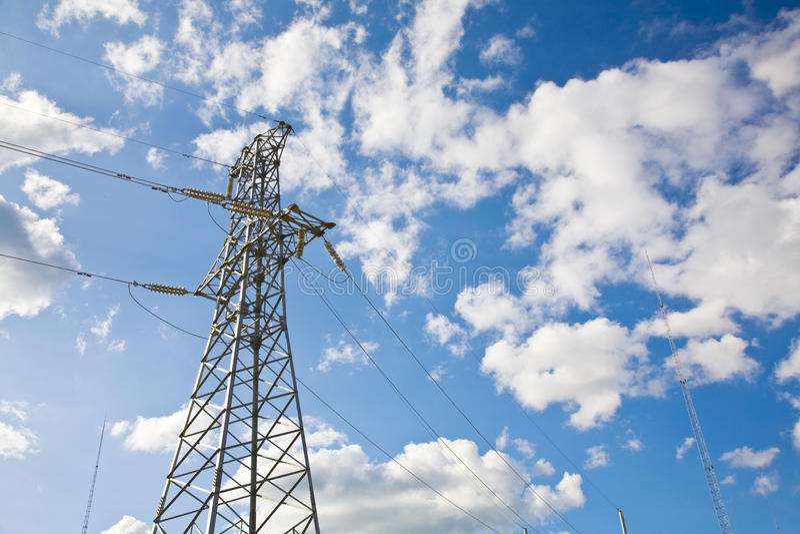 elektryczny pilon obrazy stock