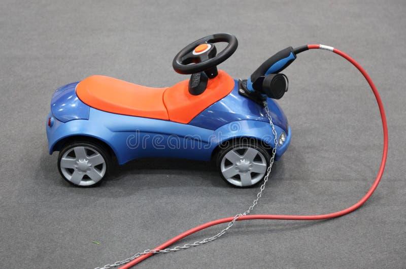 Elektryczny samochód zabawki samochód zdjęcia stock