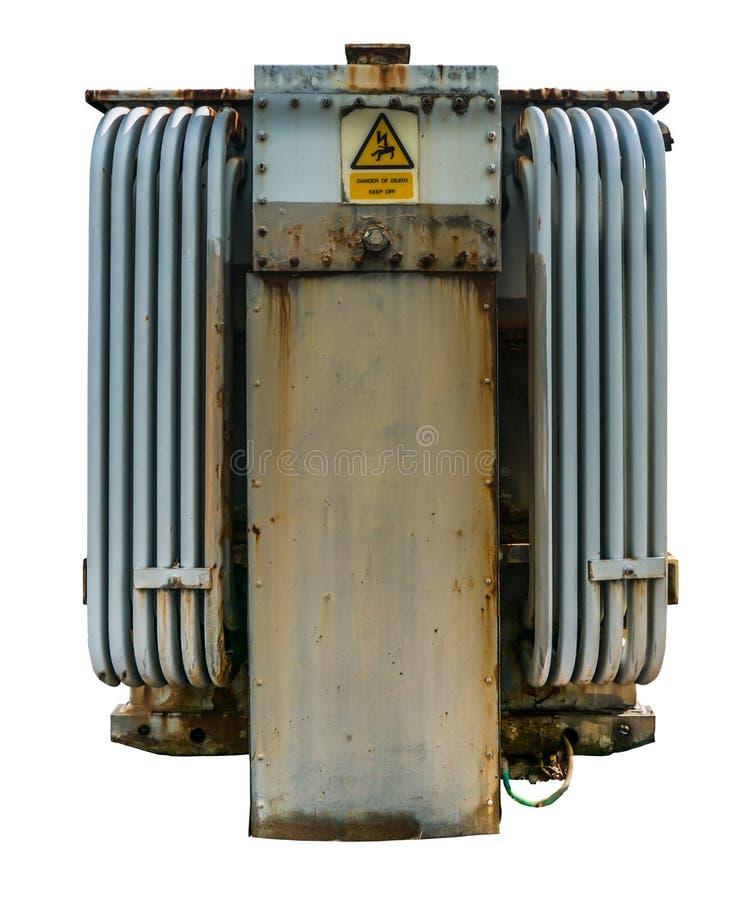 Elektryczny siatka transformator fotografia royalty free